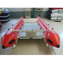 Bateau gonflable de la grande vitesse de catamaran CE