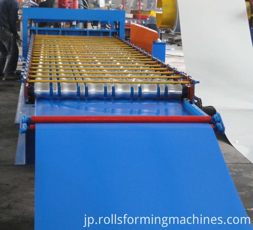 glazed tile roll forming machine 4