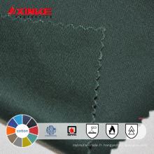 xinke fournir 100% coton ignifuge tissu