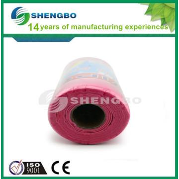 Иглопробиваемые вискозные нетканые рулоны для чистящей ткани