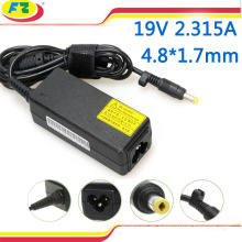 Adaptador de la CA del ordenador portátil de 100-240v 50 / 60hz para el cargador de la energía del asus 9.5V 2.315A 4.8 * 1.7mm