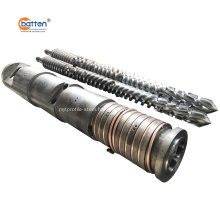 conical twin screw barrel for PVC foam board/sheet