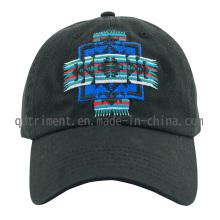 Popular Algodão Twill bordado Leisure Baseball Cap (TMB0894)