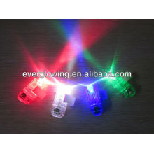 Dedo led azul / rojo / verde / blanco luz venta CALIENTE 2016