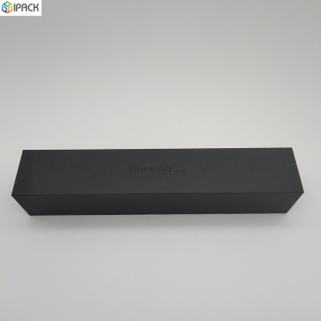 Customized Black Printed Lid-off Umbrella Gift Packing Box