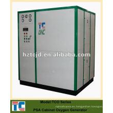 Planta de producción de oxígeno de gas PSA Cabinet System China Manufacturer