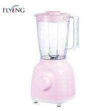 Mini licuadora eléctrica rosa clara de 1600 ml y 350 vatios