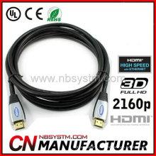 NEU 3m 10ft 2160p V1.4 Stecker auf Stecker HDMI Kabel Ethernet 3D 4 PS3 Bluray HDTV / S1W