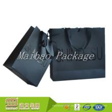 Precio de fábrica de alta calidad del portador de las compras de la impresión de encargo del bolso de papel de la moda del diseño