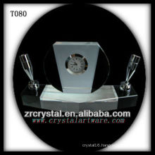 Wonderful K9 Crystal Clock T080