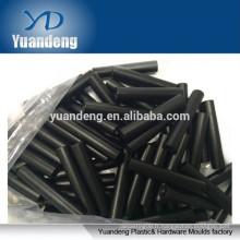 M3-0.5 entretoises arrondies en aluminium noir