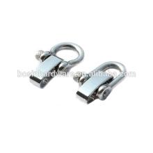 Moda de alta qualidade metal ajustável em aço inoxidável moído parafuso manilha