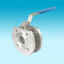 Flanged End Stainless Steel 150lbs Wafer Ball Valves