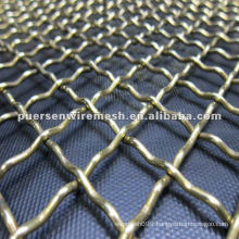 High / Low -Carbon Steel Crimped Vibrating Screen mesh