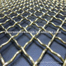 Crimped Wire Mesh 8 gauge fabricados na China