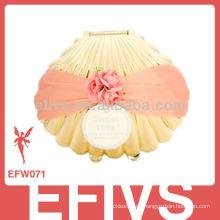2013 elegante cáscara de oro boda favor caja hecha en China