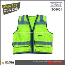 Police Reflective En20471 Class 3 Vest