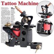 Profesional Empaistic tatuaje ametralladora
