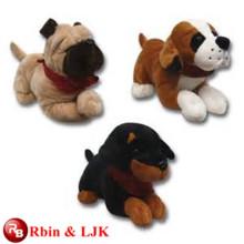 Meet EN71 and ASTM standard ICTI plush toy factory wholesale plush dog stuffed toy