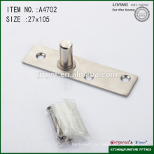 105 * bisagra de pivote de puerta de vidrio de tres tornillos de 27mm