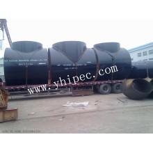 Accesorios de tubos de acero sin costura ASTM A234 Wpb Tee