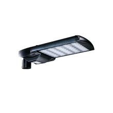 7 años de garantía led street light 165W con sensor de luz diurna SILVER BLACK HOUSING DISPONIBLE For Driveway