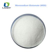Qualité fiable de glutamate monosodique MSG 99% SNACK ALIMENTATION ASSAISONNEMENT