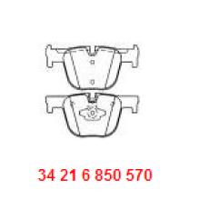 Pièces de rechange pour automobiles et accessoires Plaque de frein en céramique D1610 34216850570 pour BMW F30
