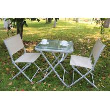 Outdoor furniture 3pc sling chat set-1*1 or 2*1 textilene
