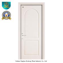 Porta de madeira do estilo da forma para o interior com prova da água (ds-103)