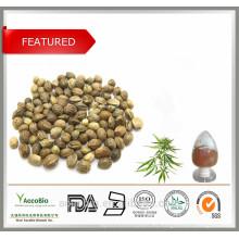 Proteína orgánica del cáñamo de la pureza elevada del 100% de la naturaleza en bulto