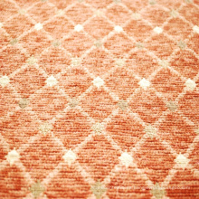 Chenille Jacquard geométrico patrón de tela para el sofá