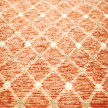 Chenille Jacquard Geometric Pattern Fabric for Sofa