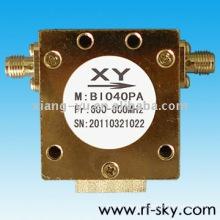 Isolador coaxial de 600-800MHz Rf com poder que segura 150W