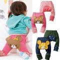 New Fashion Autumnanimal Baby Pants
