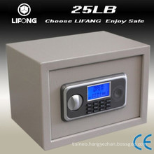 Small steel LCD deposit security safe safe box