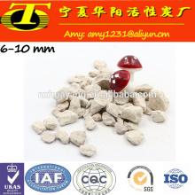 Purificação de água preço natural do mercado de pedra de zeólita à venda feita na China