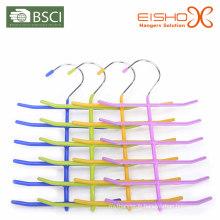 Eisho Bhss004 Tie Hanger Vinly Coating Metal Hanger