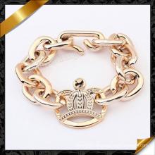 Pulsera de la princesa Crown, joyería clásica de la pulsera de la muestra (fb074)