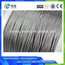 Buy Flexible 1x7 1x12 1x19 1x37 Steel Wire Rope