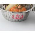 Peneira de arroz de lavagem profunda de aço inoxidável (FT-00409)