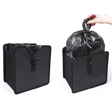 Hanging Car Trash Kan Vattentät Garbage Bag Organizer