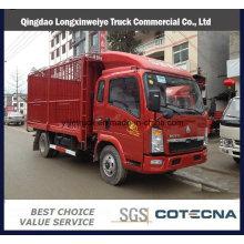 Camión ligero de 3-5 toneladas Camión ligero de carga HOWO de Sinotruk