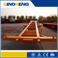 20ft 40ft Container Trailer Plateform with 12 Tires