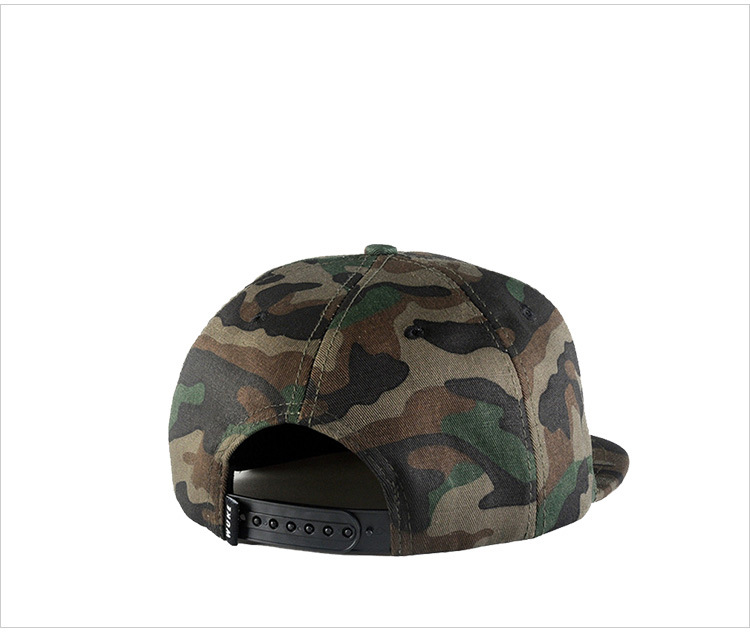 Camouflage hip-hop hat baseball hat man (7)