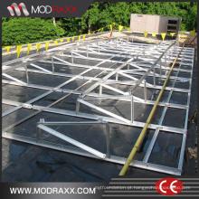 Painéis Fotovoltaicos de Portaria Completa Pequena (GD909)