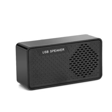 Mini alto-falante USB portátil de 3W para PC