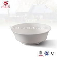 Benutzte keramische runde Schüssel chinesischer keramischer runder Schüssel der flachen Keramik des italienischen Geschirrs