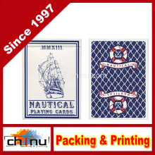 MMS Nautical Playing Cards by House of Playing Cards Trick, Blue (430144)
