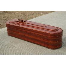 European-Style Wooden Coffin&Casket (R001MI)